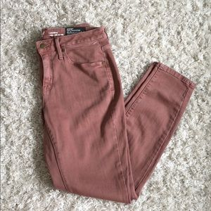 "NWT Mossimo ""Curvy Skinny"" Dusty Rose Jeggings"